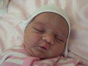 MARIANA PROCHÁZKOVÁ se narodila v úterý 16. května mamince Tereze Hartmanové z Mukařova. Měřila 51 cm a vážila 3,88 kg.