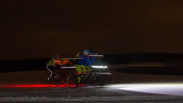 Akce pod názvem Fatbike Challenge 2017 víkend - na vlně bikepackingu se uskutečnila od 10. do 12. února 2017 v okolí Držkova na Jablonecku. V pátek 10. února čekala účastníky noční vyjížďka na Černou Studnici.