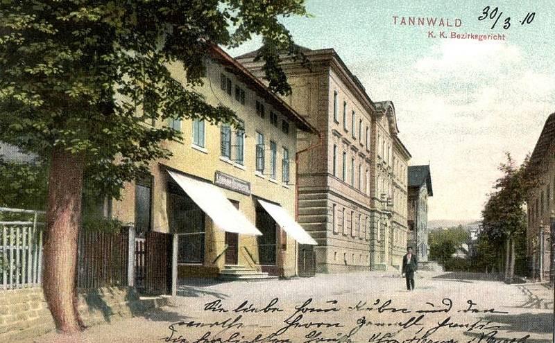 Historické fotografie Tanvaldu.
