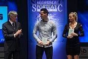 Slavnostní vyhlášení ankety Nejúspěšnější sportovec Jablonecka za rok 2017 proběhlo 29. ledna v Městském divadle v Jablonci nad Nisou. Na snímku uprostřd je biker Tomáš Slavík.