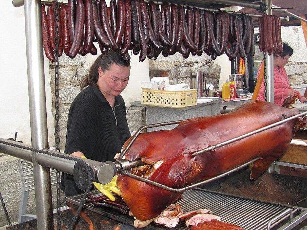 Tradiční trhy v Jablonci.