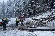 Sníh na Jablonecku