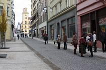 Lidická ulice v Jablonci po rekonstrukci