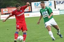 Hrdina zápasu Milan Pacanda a Emil Rilke.