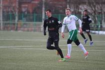 Další přátelský zápas sehráli hráči A týmu Velkých Hamrů proti FK Jablonec U 19. A  nevedli si špatně.