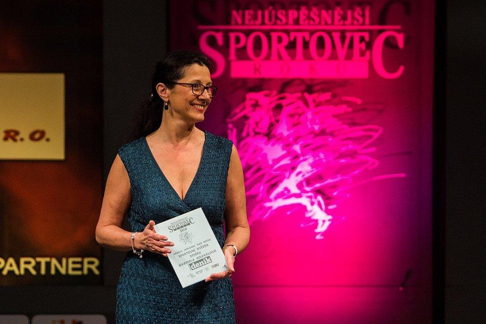 Vyhlášení ankety Sportovec roku 2016 v Jablonci nad Nisou