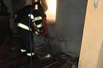 Požár v Železném Brodě