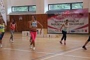 Otevřeného závodu pro jednotlivce se zúčastnili se dívky i chlapci. Velký zájem o aerobik stále trvá.