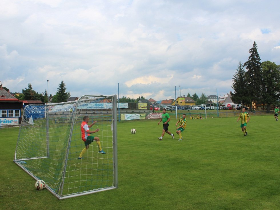 Fotbalový turnaj v Zásadě.