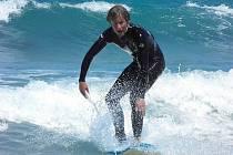 Jan Francke se po čtrnácti měsících vrátil do Jablonce. V Austrálii si dosyta užil všeho, i moře a vodních her.