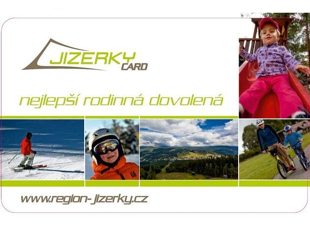 Nový produkt Jizerky CARD