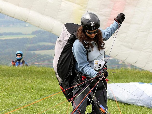 Paragliding. Ilustrační snímek.