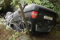 V pondělí 11. srpna v 16.30 hodin došlo na silnici v katastru obce Železný Brod v místě za tzv. muchomůrkami k dopravní nehodě se zraněním.