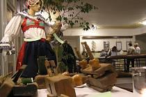 Výstava v tanvaldském kině Jas - kouzlo Vánoc.