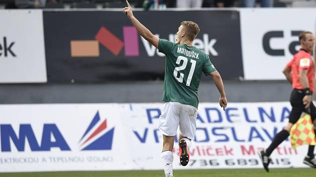 V úvodním utkání FORTUNA:LIGY byl autorem dvou jabloneckých gólů nováček v týmu Jan Matoušek.