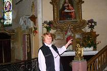 Dny evropského dědictví 2007 na Krásné. Zvláštností kostela sv. Josefa jsou tzv. Svaté schody – celkem 28 stupňů, v nichž jsou uloženy ostatky svatých.