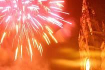 Oslavy příchodu Nového roku v Liberci