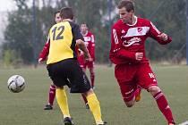 Fotbalisté Jiskry Mšeno jsou v tabulce krajského přeboru po podzimu na osmém místě.