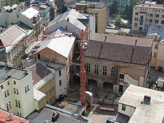 Bývalý hotel Praha v Jablonci