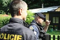 Vyšetřování krádeže v rekreačním objektu. Ilustrační snímek.