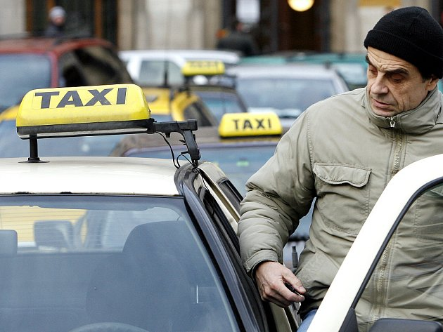 Taxislužba. Ilustrační snímek.