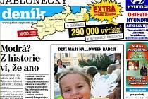 Jablonecký deník EXTRA podzim 2011.