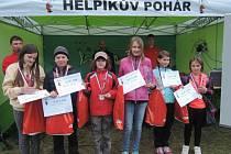 Vítězové ze ZŠ Rádlo