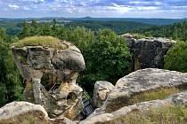 Skalní hrad Rotštej.