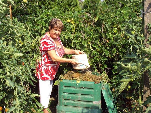 Kompostování. Ilustrační snímek