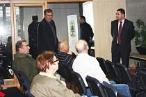 E-aukci energií přihlížel i náměstek primátora Miloš Vele.