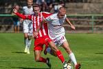 Zápas 5. kola fotbalové Divize C mezi týmy FK Jiskra Mšeno - Jablonec nad Nisou a FK Pardubice B se odehrál 8. září ve Velkých Hamrech.