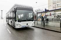 Jeden z novějších typů autobusu Mercedes Benz Citaro.