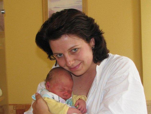 Jana Procházková se synem Vítkem