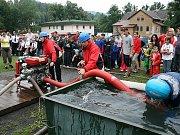 Sbor dobrovolných hasičů Zlatá Olešnice. Vodu vpřed.