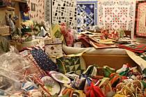 Český patchworkový klub svá díla vystavuje
