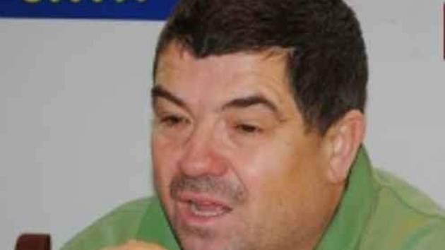 Trenér A týmu Mšena Miroslav Procházka