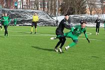 V přípravném zápase na hřišti v Desné porazily Velké Hamry A Nymburk 4:1.