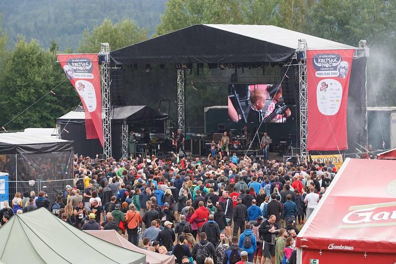 Festival Keltská Noc! 2019 pod skokanskými můstky v Harrachově.