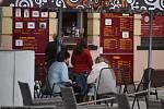 Restaurační zahrádky v Jablonci nad Nisou.