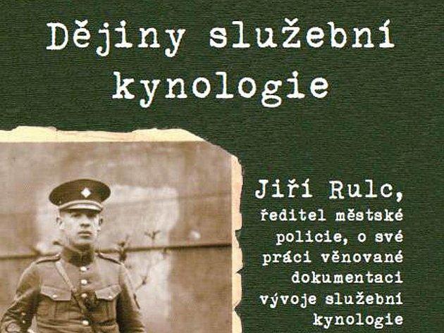 Kniha Jiřího Rulce o služební kynologii