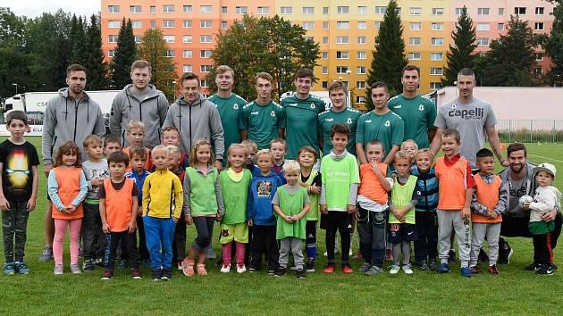 Nové členy chtějí uvítat ve Fotbalové akademii FK Jablonec. Nábor se koná ve čtvrtek 18. června.