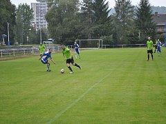 V zápase krajského přeboru domácí Železný Brod vyškolil soupeře z Rovenska, když mu nadělil sedm gólů.