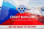 Čeští biatlonisté představili 7. listopadu v Jablonci nad Nisou zbrusu nový servisní kamion.