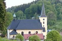 Kostel Svatého Jana Křtitele Janov nad Nisou