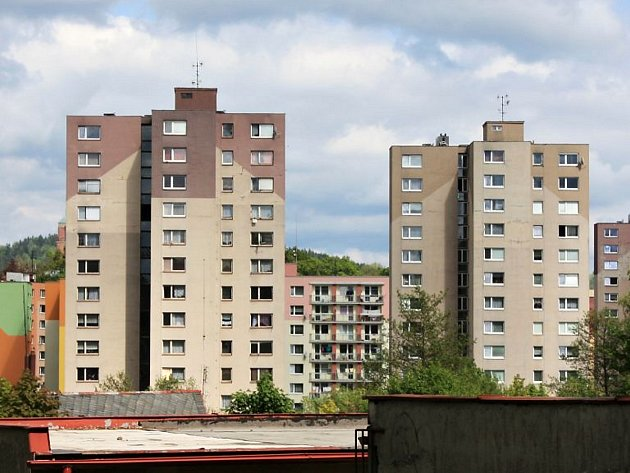 Panelové domy Na Vršku