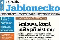 Nové vydání Týdeníku Jablonecko.