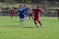 Domácí tým nastoupil v utkání jako favorit a od začátku se usídlil na polovině Brodu.