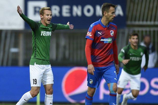 Tým trenéra Petra Rady pokořil na Střelnici Plzeň, kterou porazil vdalším zápase Fortuna ligy 3:0.