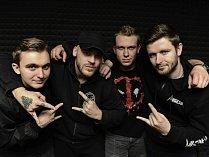 Turnovská rock metalová kapela Anarchia v novém složení.