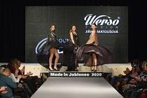 Módní přehlídka Made in Jablonec 2020 v jabloneckém Eurocentru.
